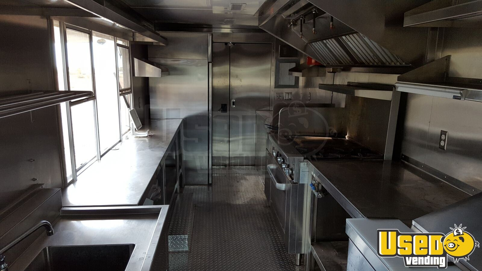 2000 Chevy Workhorse All-purpose Food Truck Stainless Steel Wall Covers Arizona Gas Engine for Sale - 4