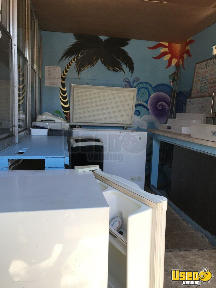 2000 Custom Trailer, Snowizard Snowball Trailer Cabinets New Mexico for Sale - 4