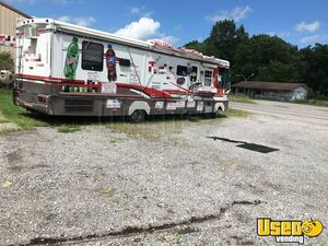 2000 Dutchman Pizza And Catering Food Bus Pizza Food Truck Concession Window Missouri for Sale