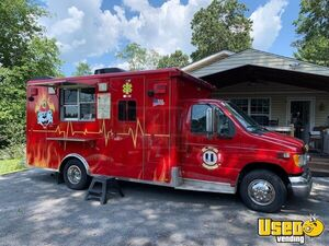 2000 E-250 Van Kitchen Food Truck All-purpose Food Truck Maryland Diesel Engine for Sale