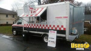 2000 E-350 Pizza Food Truck Pizza Food Truck Concession Window Pennsylvania Gas Engine for Sale
