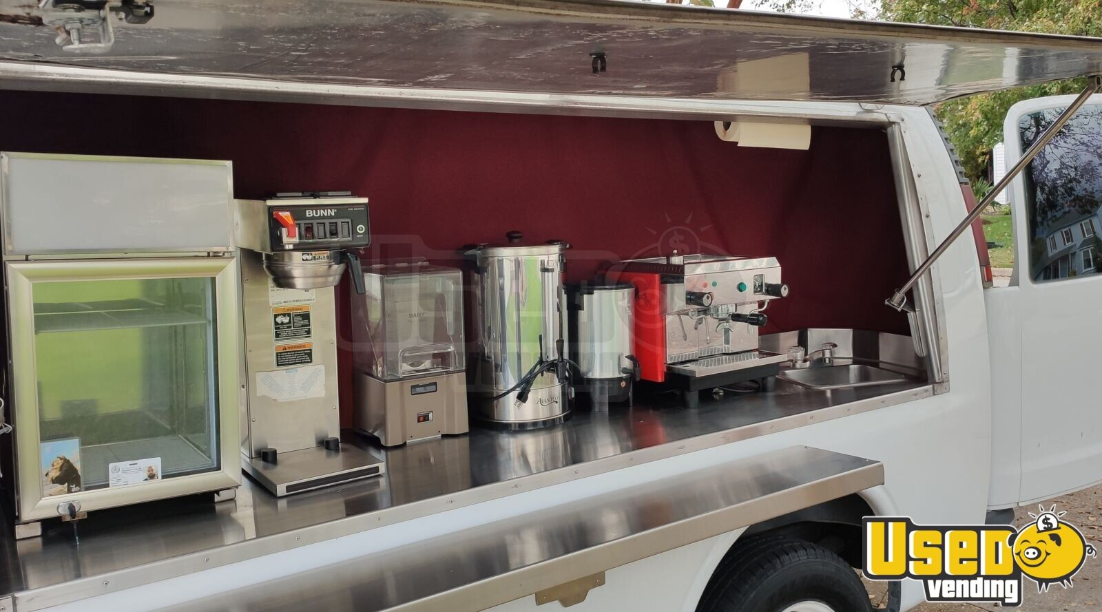 2000 Express 2500 Coffee Truck Coffee & Beverage Truck Exterior Customer Counter Virginia Gas Engine for Sale - 6