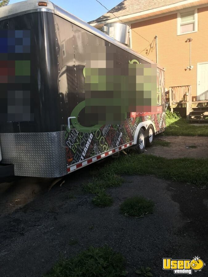 2000 Food Concession Trailer Kitchen Food Trailer Concession Window Iowa for Sale - 3