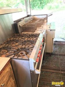 2000 Food Concession Trailer Kitchen Food Trailer Oven Mississippi for Sale