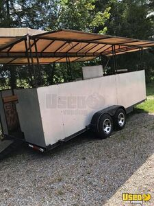 2000 Food Concession Trailer Kitchen Food Trailer Propane Tank Mississippi for Sale
