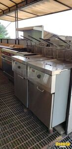 2000 Food Concession Trailer Kitchen Food Trailer Steam Table Mississippi for Sale