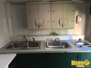 2000 Food Concession Trailer Kitchen Food Trailer Upright Freezer Iowa for Sale