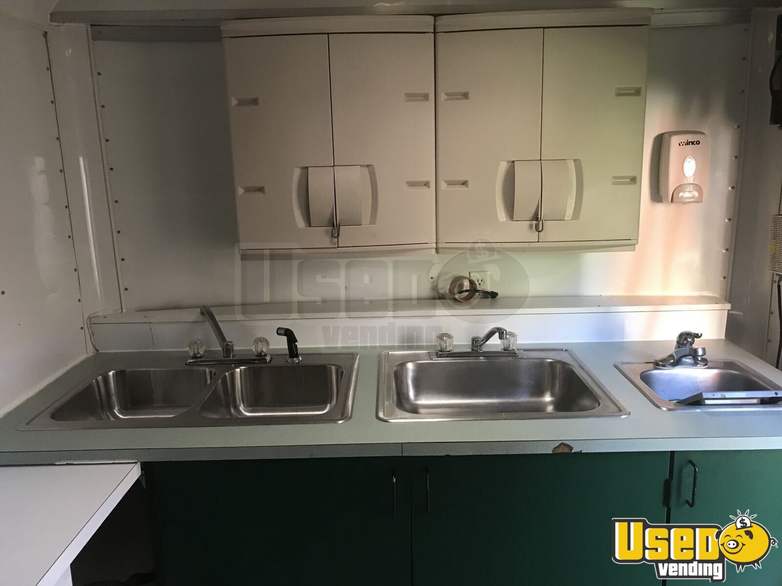 2000 Food Concession Trailer Kitchen Food Trailer Upright Freezer Iowa for Sale - 9