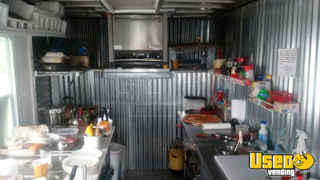 2000 Ford E-350 Pizza Food Truck Exterior Customer Counter Pennsylvania Gas Engine for Sale - 7