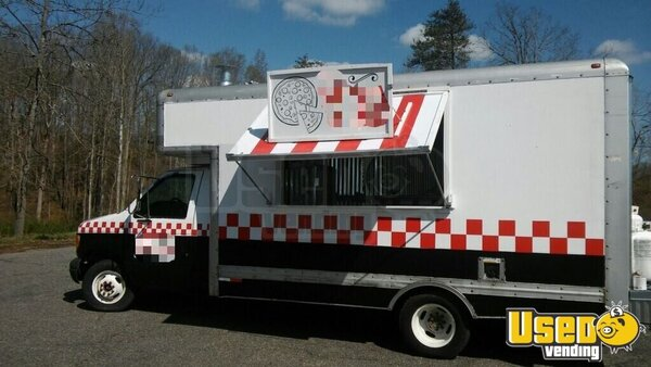 2000 Ford E-350 Pizza Food Truck Pennsylvania Gas Engine for Sale