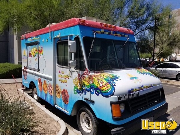 2000 Ford Workhouse Food Truck California Gas Engine for Sale