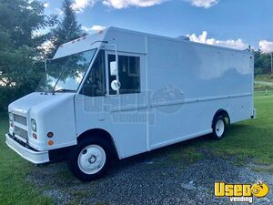 2000 Freightliner Mt45 All-purpose Food Truck Stainless Steel Wall Covers North Carolina Diesel Engine for Sale