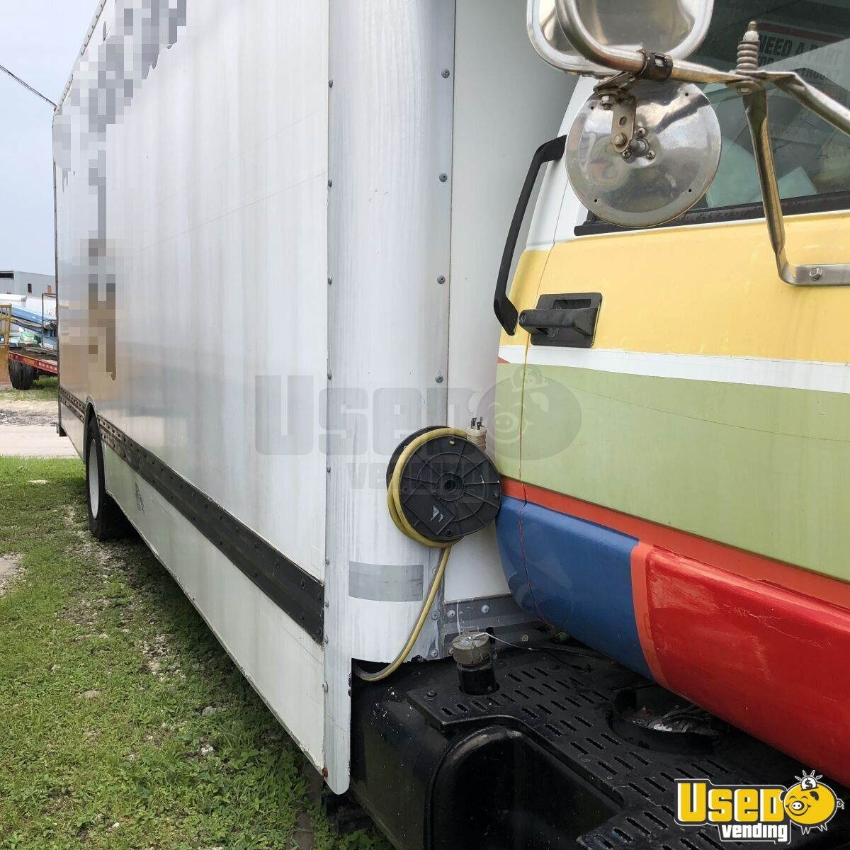 2000 Gmc Other Mobile Business Concession Window Florida Gas Engine for Sale - 3