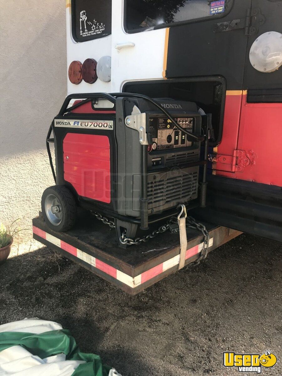 2000 Private Electrician And Carpenter All-purpose Food Truck Floor Drains Colorado Diesel Engine for Sale - 5