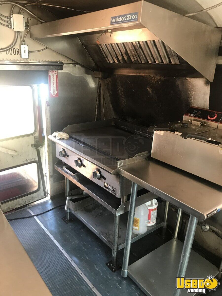 2000 Private Electrician And Carpenter All-purpose Food Truck Shore Power Cord Colorado Diesel Engine for Sale - 8