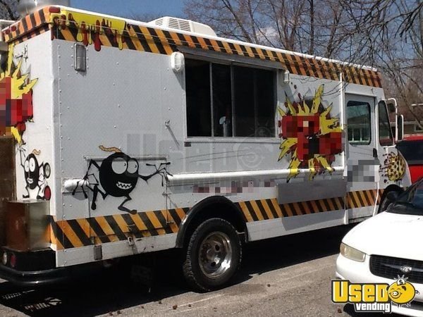 2000 Workhourse P40 Pizza Food Truck Concession Window Indiana Diesel Engine for Sale