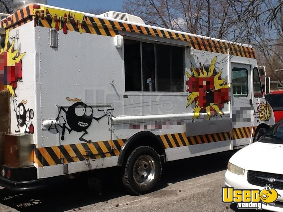 2000 Workhourse P40 Pizza Food Truck Concession Window Indiana Diesel Engine for Sale - 3