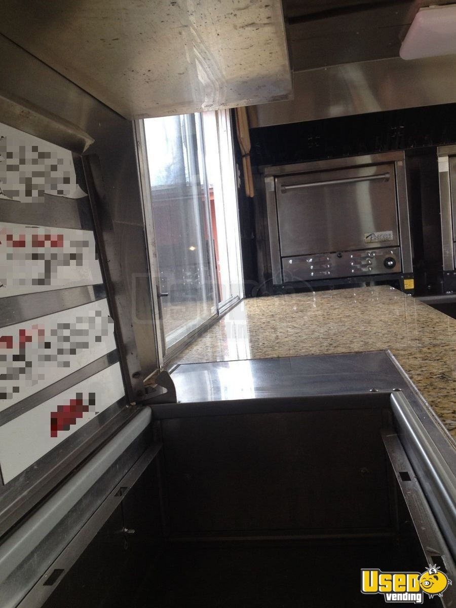 2000 Workhourse P40 Pizza Food Truck Exhaust Fan Indiana Diesel Engine for Sale - 17