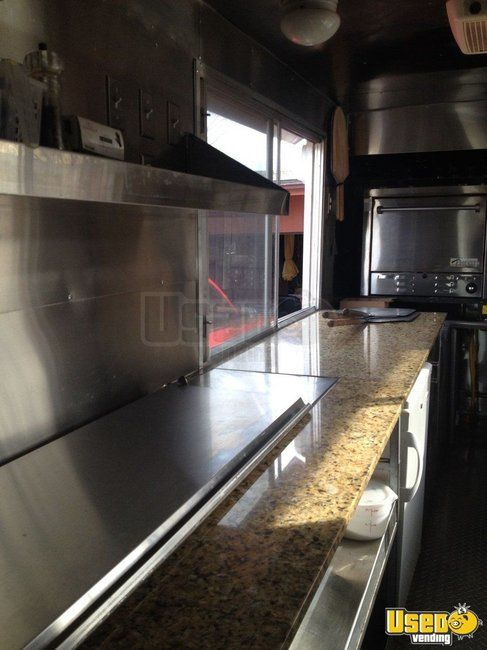 2000 Workhourse P40 Pizza Food Truck Exhaust Hood Indiana Diesel Engine for Sale
