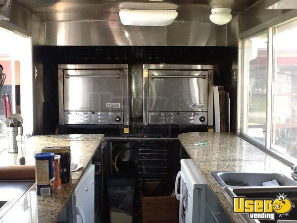 2000 Workhourse P40 Pizza Food Truck Propane Tank Indiana Diesel Engine for Sale