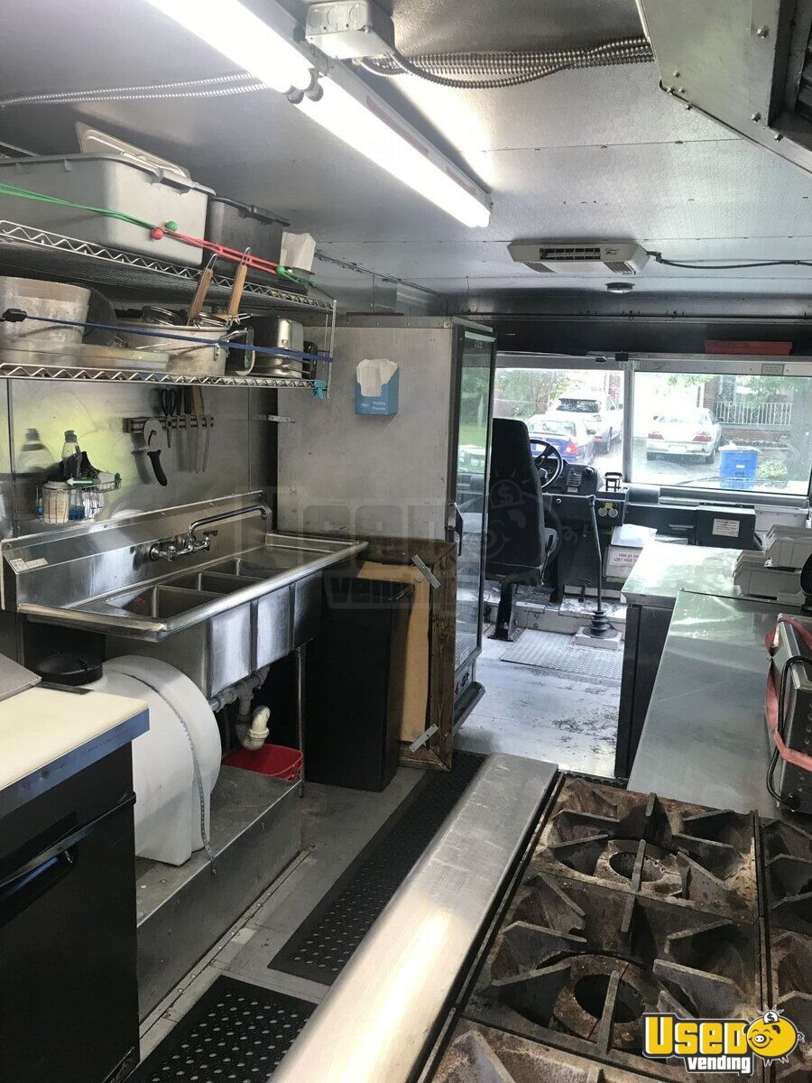 2001 All-purpose Food Truck Exterior Customer Counter Oklahoma Diesel Engine for Sale - 5
