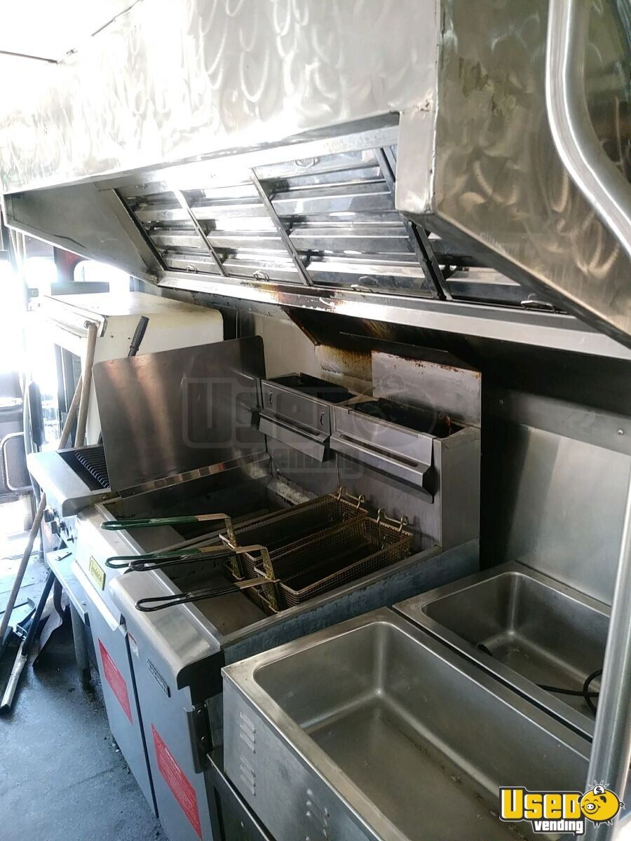 2001 All-purpose Food Truck Propane Tank Colorado Diesel Engine for Sale - 6