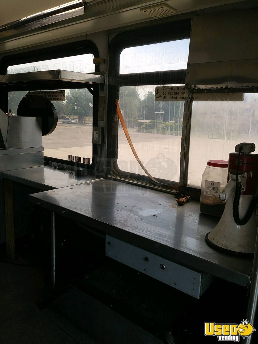 2001 All-purpose Food Truck Work Table Colorado Diesel Engine for Sale - 18