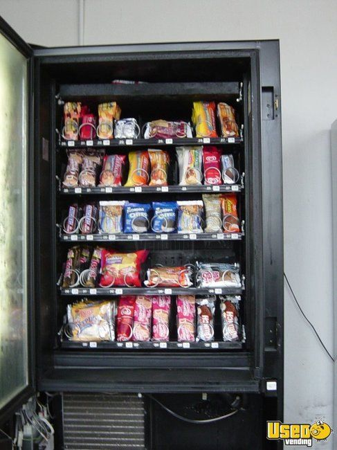 2001 Ap 320 Automatic Products Snack Machine 2 Massachusetts for Sale