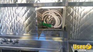 2001 Chevy P30 Food Truck Deep Freezer California Diesel Engine for Sale
