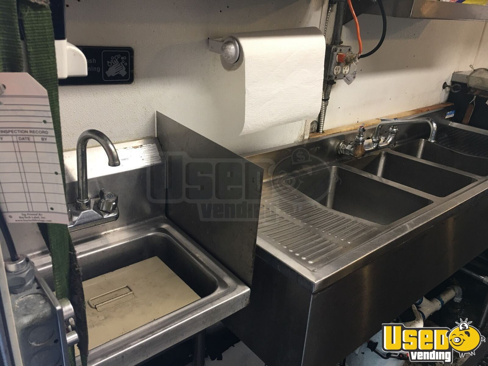 2001 Chevy Workhorse All-purpose Food Truck Fryer Florida Gas Engine for Sale - 17