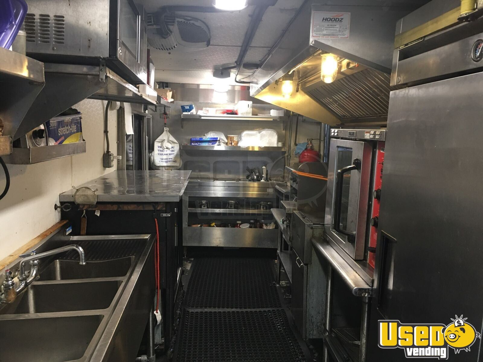 2001 Chevy Workhorse All-purpose Food Truck Generator Florida Gas Engine for Sale - 7