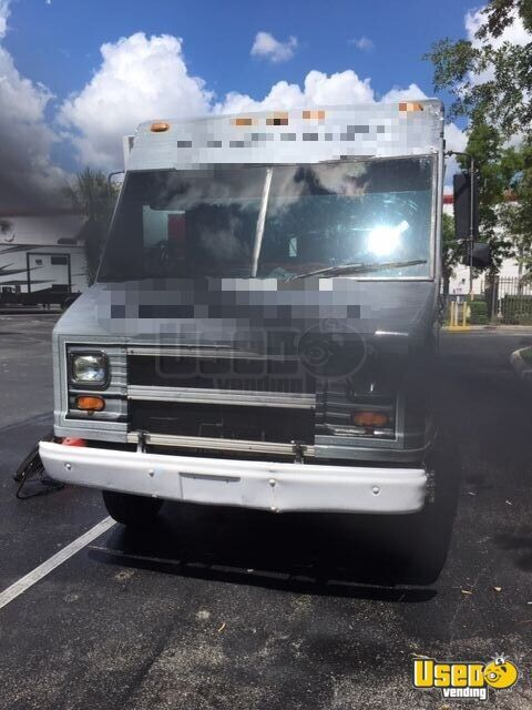 2001 Chevy Workhorse All-purpose Food Truck Propane Tank Florida Gas Engine for Sale - 6