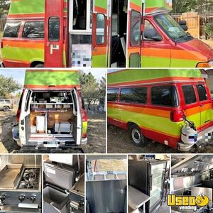 2001 Dodge Ram Van All-purpose Food Truck Air Conditioning Wyoming Gas Engine for Sale
