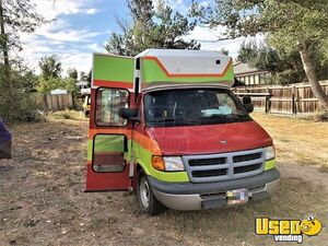 2001 Dodge Ram Van All-purpose Food Truck Concession Window Wyoming Gas Engine for Sale