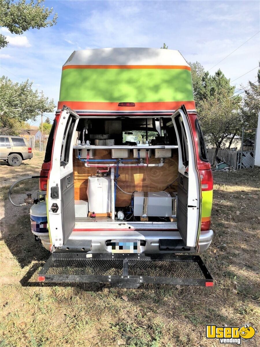 2001 Dodge Ram Van All-purpose Food Truck Removable Trailer Hitch Wyoming Gas Engine for Sale - 5