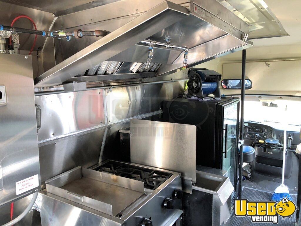 2001 Dodge Ram Van All-purpose Food Truck Stainless Steel Wall Covers Wyoming Gas Engine for Sale - 6