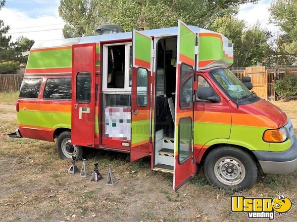 2001 Dodge Ram Van All-purpose Food Truck Wyoming Gas Engine for Sale