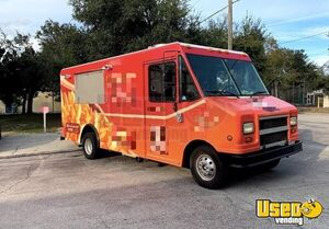 2001 Econoline E350 Step Van Kitchen Food Truck All-purpose Food Truck Air Conditioning Florida for Sale