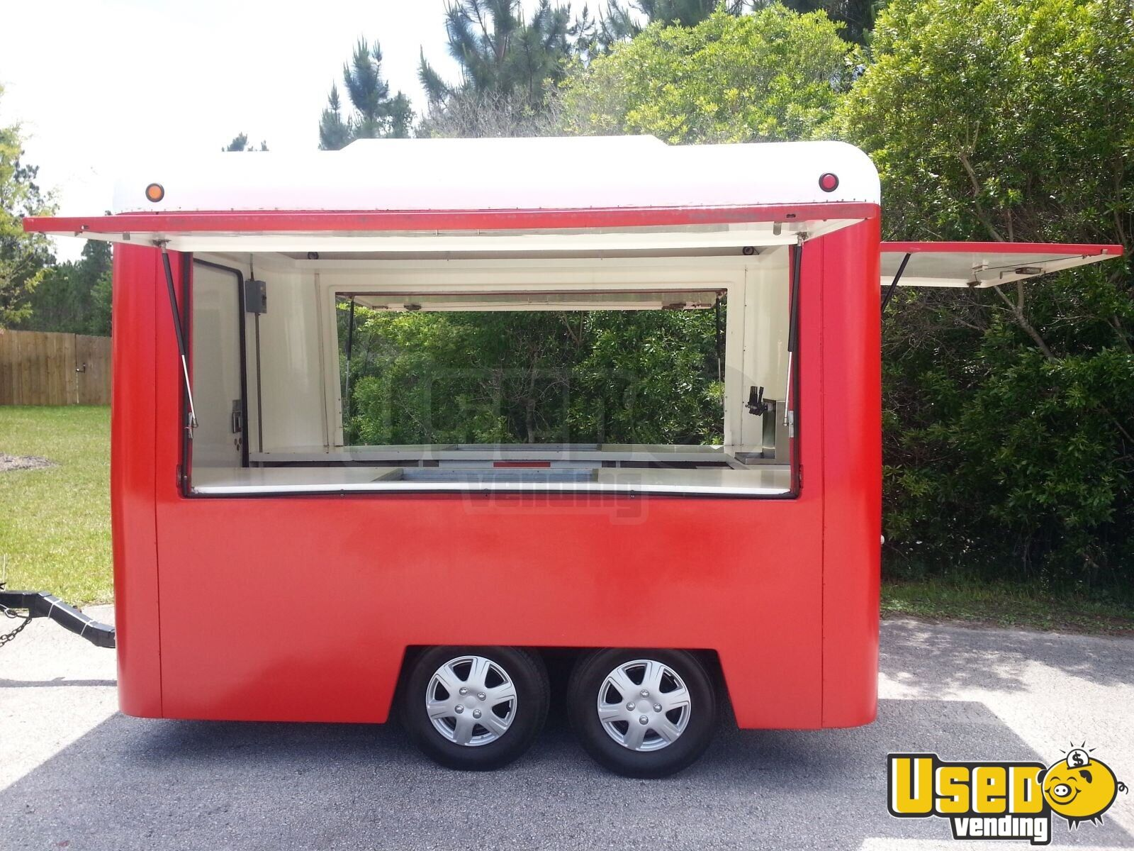 Food Sale: 7' X 10' Concession Trailer For Sale In Florida