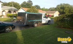 2001 Ford F350 Lunch Serving Food Truck Concession Window South Carolina for Sale