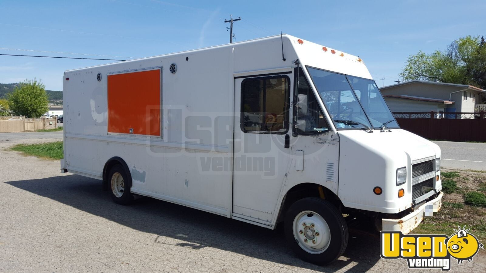 2001 Freightliner All-purpose Food Truck Stainless Steel Wall Covers British Columbia Diesel Engine for Sale - 4