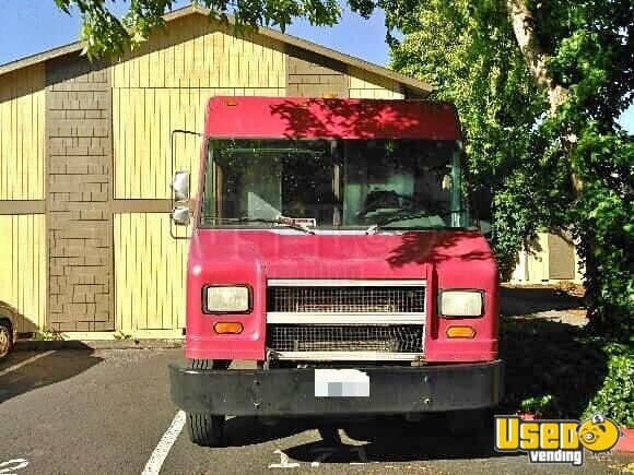 2001 Freightliner Utilimaster Stepvan Exterior Lighting Washington Diesel Engine for Sale - 2