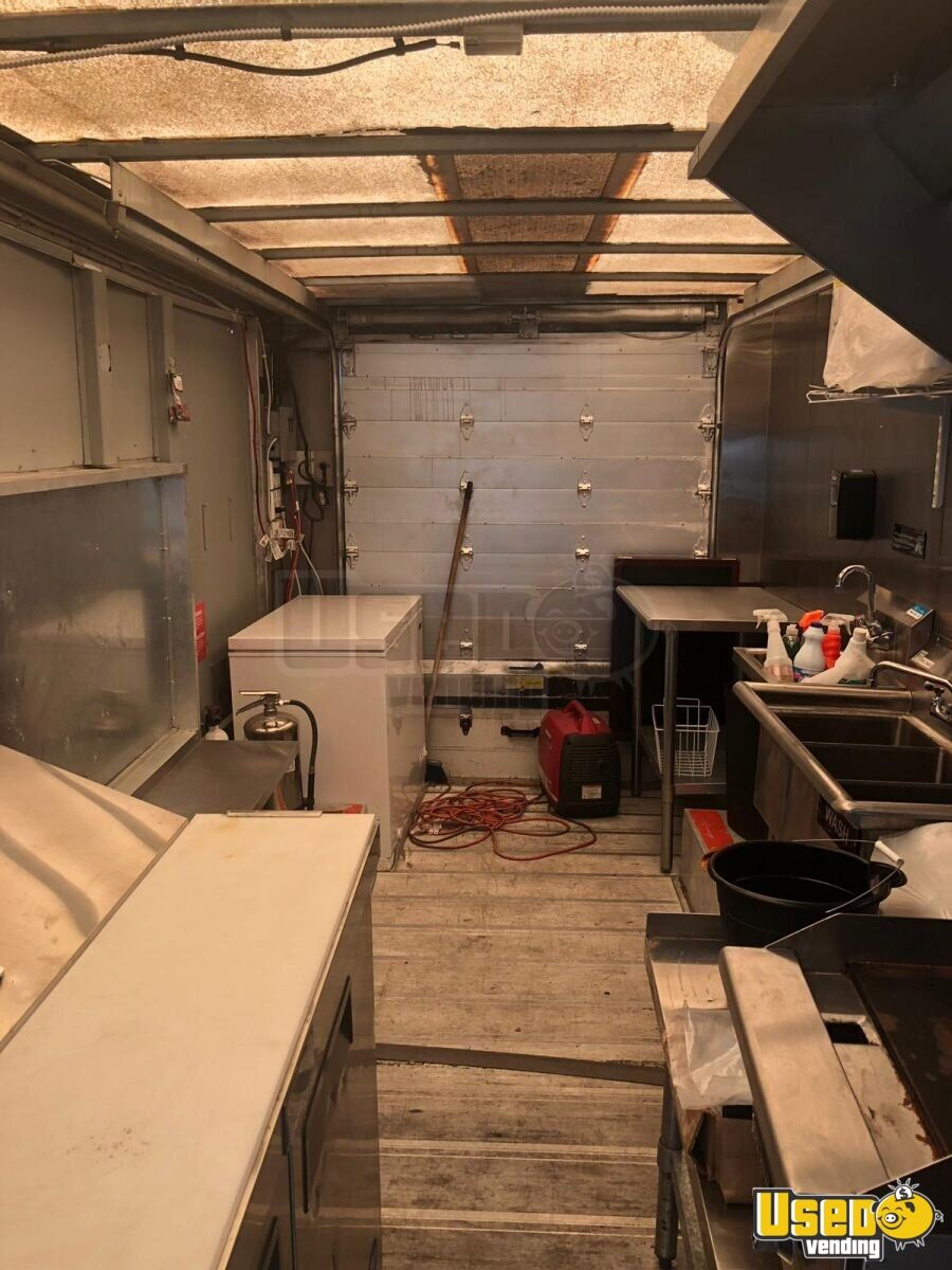 2001 Frht All-purpose Food Truck Exhaust Hood Florida Diesel Engine for Sale - 9