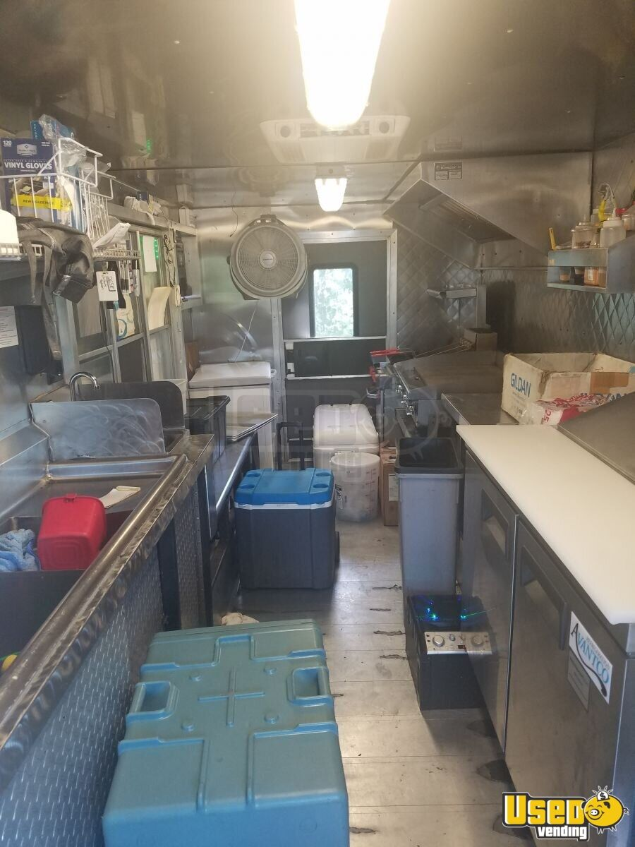 2001 Frht Mwv Food Truck Stainless Steel Wall Covers North Carolina Diesel Engine for Sale - 4