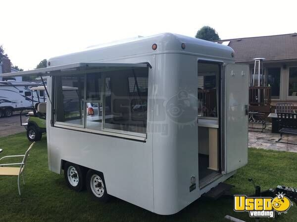 7 X 10 Food Concession Trailer For Sale In Ohio
