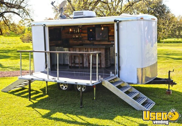 2001 Mobile Party Bar Event Trailer Party / Gaming Trailer Louisiana for Sale