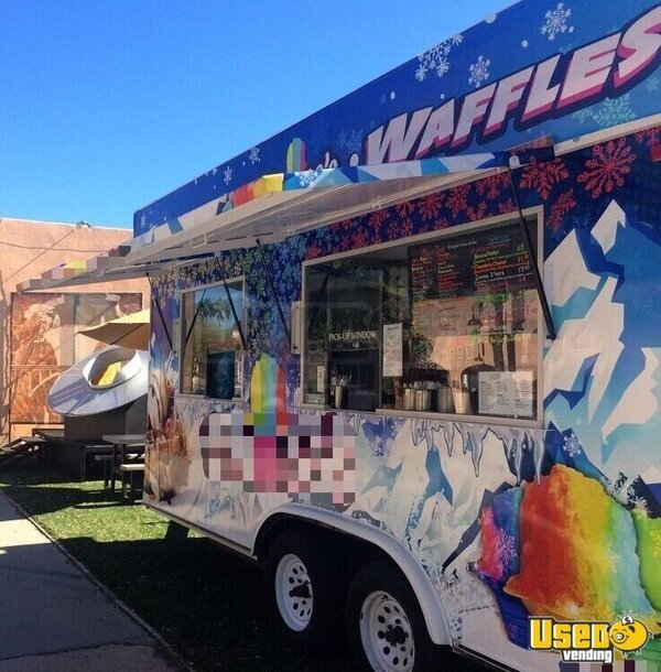 2001 Shaved Ice Concession Trailer Snowball Trailer Nevada for Sale