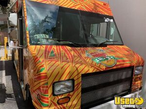 2001 Step Van Kitchen Food Truck All-purpose Food Truck Cabinets Florida for Sale