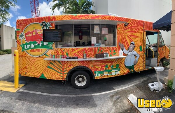 2001 Step Van Kitchen Food Truck All-purpose Food Truck Florida for Sale
