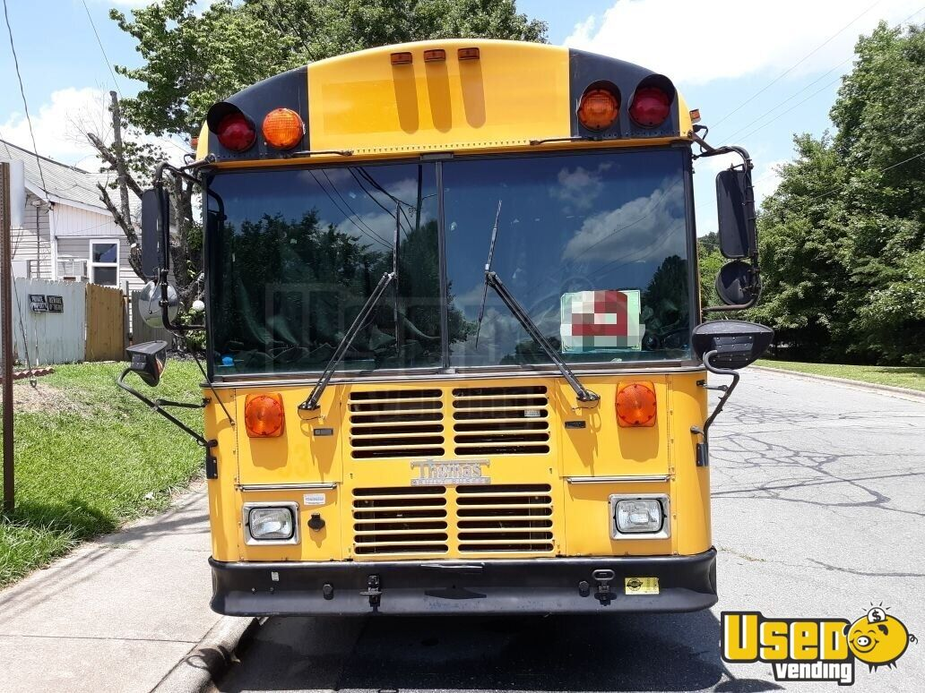 2001 Thomas Built Bus All-purpose Food Truck Stainless Steel Wall Covers North Carolina Diesel Engine for Sale - 4